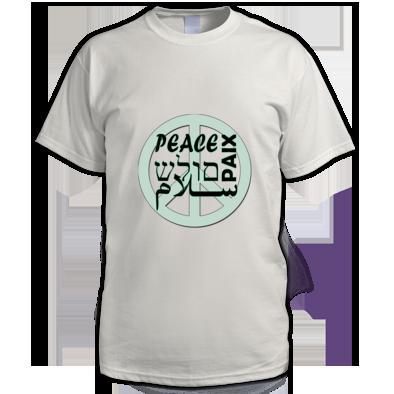 Peace T shirt Men