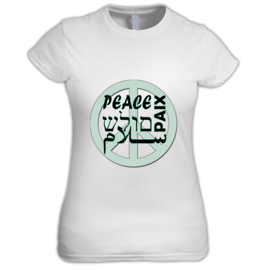 Peace T shirt Women