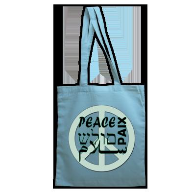 Peace Tote Bags