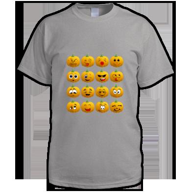 Halloween Pumpkin Emoji Men T shirt
