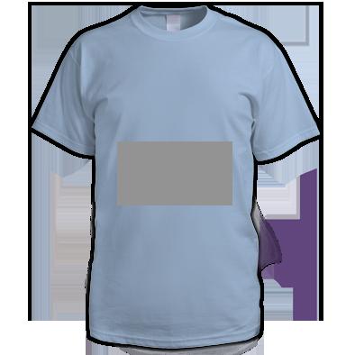 Mid Grey on Light blue