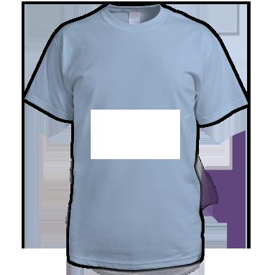White on Light blue