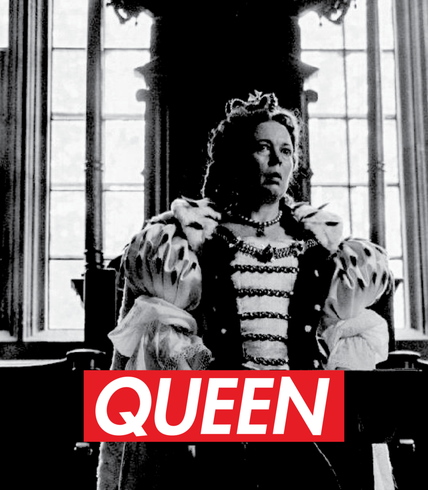 Queen Olivia Colman>