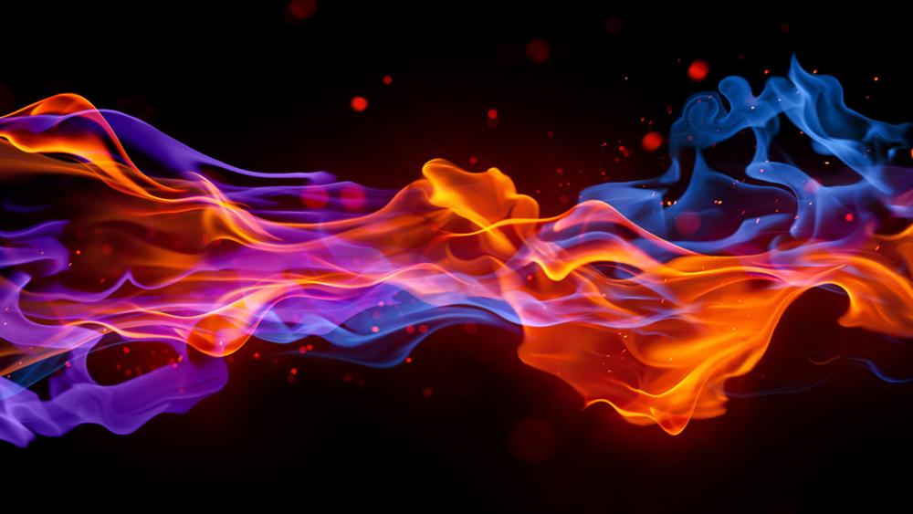 multicolour fire>