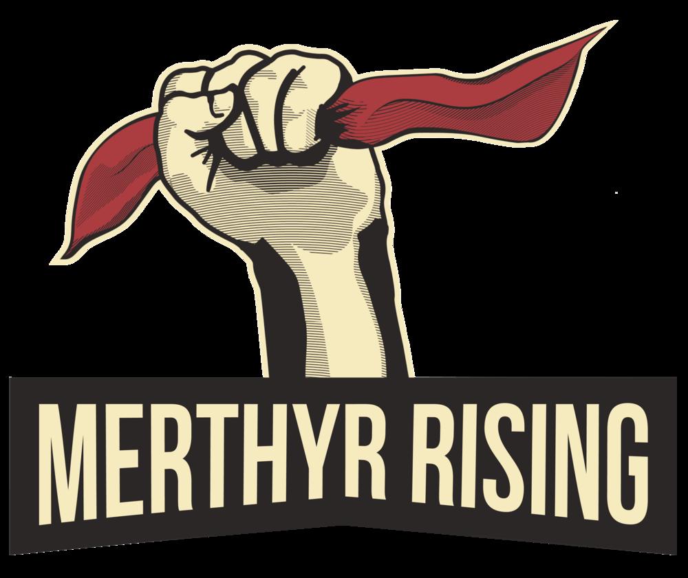 Merthyr Rising Logo>