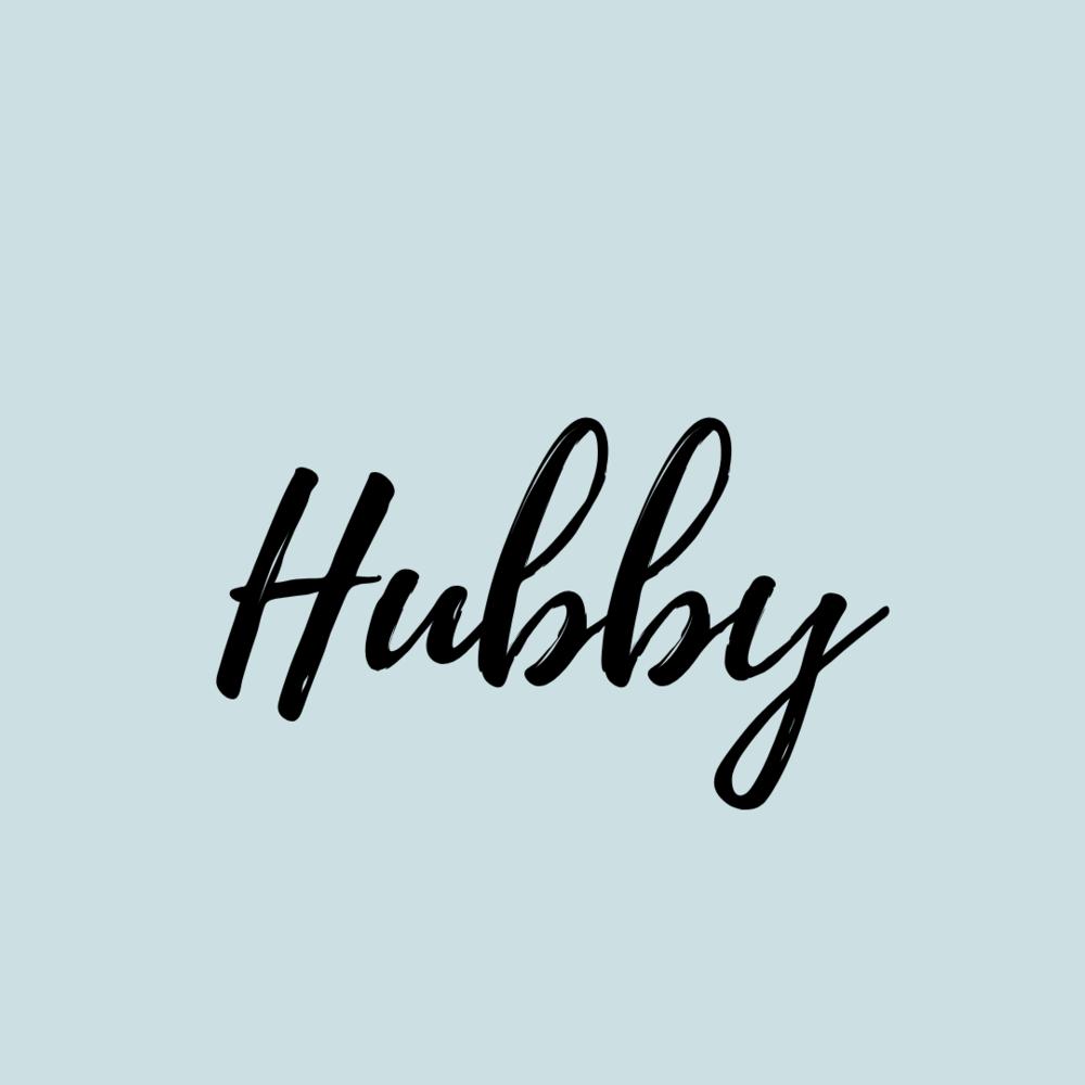Hubby>