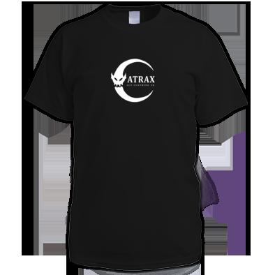 (( ATRAX MOON LOGO )) Mens - Ladies Unisex T-shirt / 100% Cotton / Best Quality Print / Atrax Alt. Clothing UK