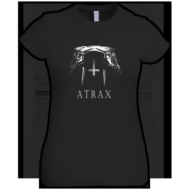 (( ATRAX - VENOM )) Ladies T-shirt / 100% Cotton / Best Quality Print / Atrax Alt Clothing UK
