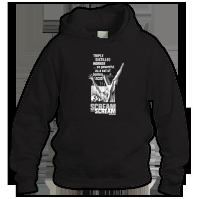 (( SCREAM AND SCREAM AGAIN )) Mens - Ladies Unisex Hoodie / 100% Cotton / Best Quality Print / Atrax Alt. Clothing UK