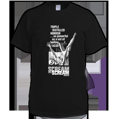 (( SCREAM AND SCREAM AGAIN )) Mens - Ladies Unisex T-shirt / 100% Cotton / Best Quality Print / Atrax Alt. Clothing UK