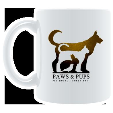 Paws & Pups (Pet Hotel) Cup / Mug