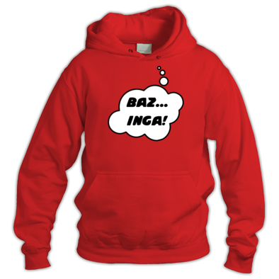 BAZ... INGA! in Thought Bubble by Chillee Wilson from Bubble.Tees.com