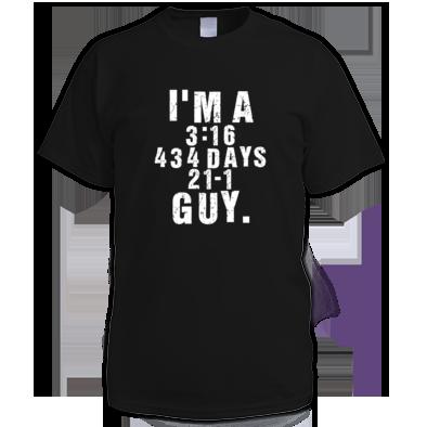 I'm A 3:16 / 434 Days / 21-1 Guy.