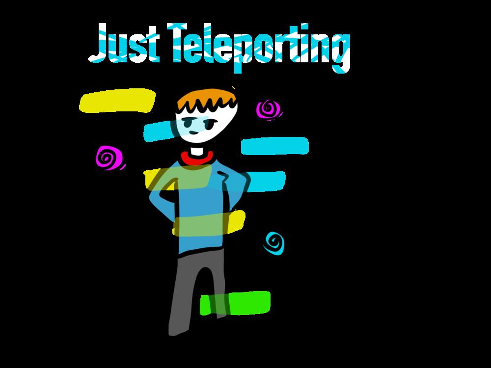 Just Teleporting Cap>