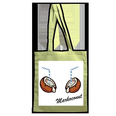 Markoconut drinkin' coconut bag (colour)