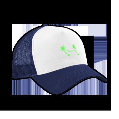 Green on Navy