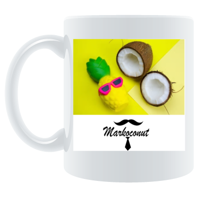Markoconut pinapple delight mug