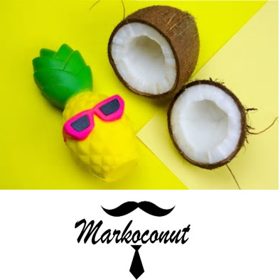 Markoconut pinapple delight cap