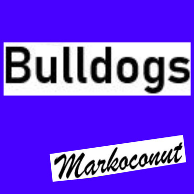 Markoconut Bulldogs sportsday house shirt girls