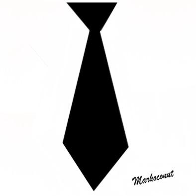 Mr Markoconut hoodie (tie)>