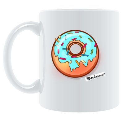 Markocodonut mug (colour)