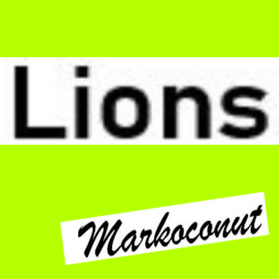 Markoconut lions sportsday house bag>