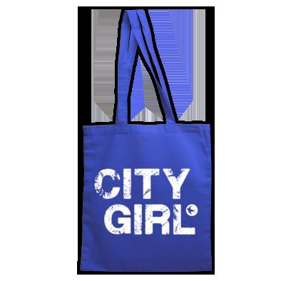 Cardiff City FC - City Girl - Tote Bag