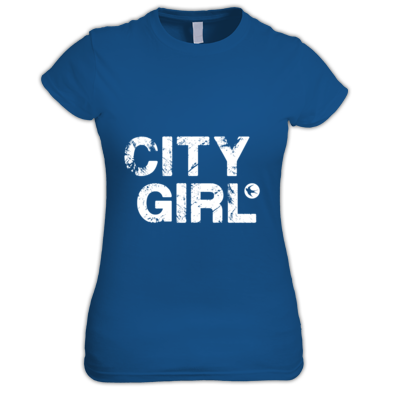 Cardiff City FC - City Girl - Women's T-shirt