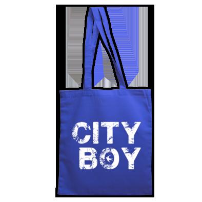 Cardiff City FC - City Boy - Tote Bag