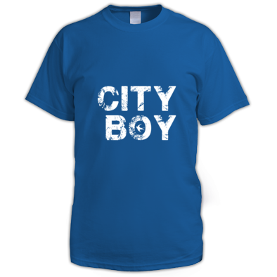 Cardiff City FC - City Boy - Men's T-shirt