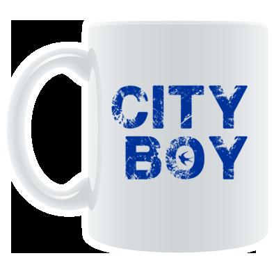 Cardiff City FC - City Boy - Mug