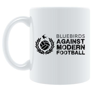 Cardiff City FC Bluebirds Against Modern Football - Mug
