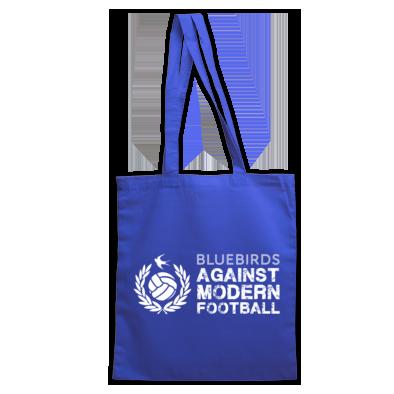 Cardiff City FC Bluebirds Against Modern Football - Tote Bag