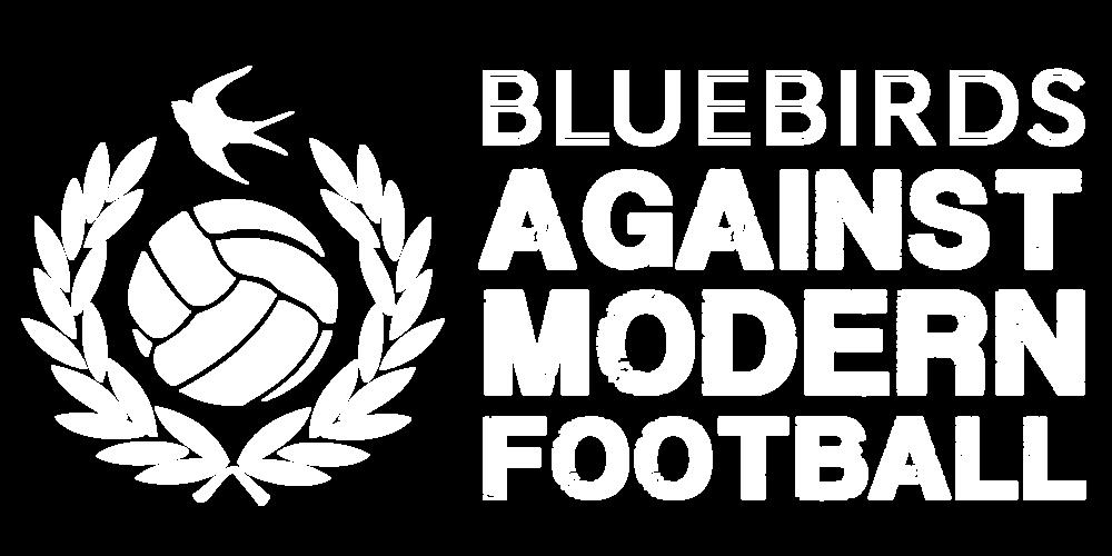 Cardiff City FC Bluebirds Against Modern Football - Hooded Top>