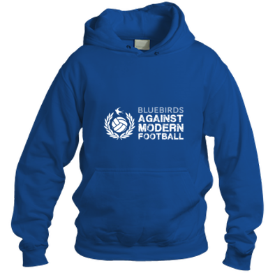 Cardiff City FC Bluebirds Against Modern Football - Hooded Top