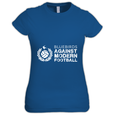 Cardiff City FC Bluebirds Against Modern Football - Women's T-shirt