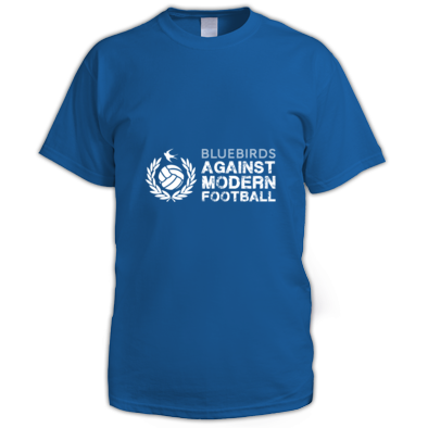 Cardiff City FC Bluebirds Against Modern Football - Men's T-shirt