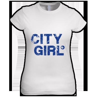 Cardiff City FC - City Girl - Women's T-shirt