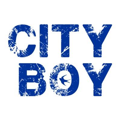 Cardiff City FC - City Boy - Men's T-shirt
