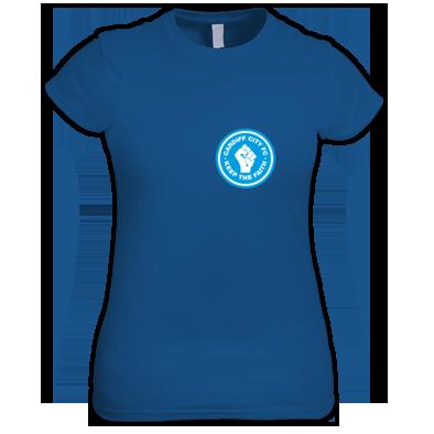 Cardiff City FC - Keep the Faith - Women's Tshirt
