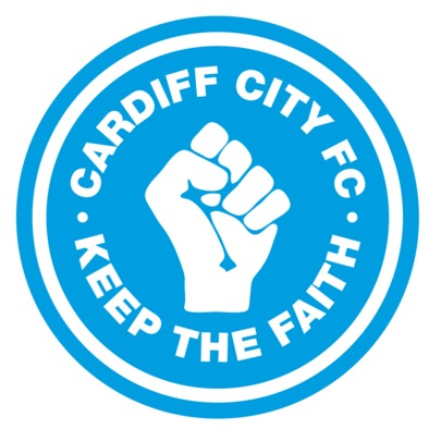 Cardiff City FC - Keep the Faith - Men's Tshirt