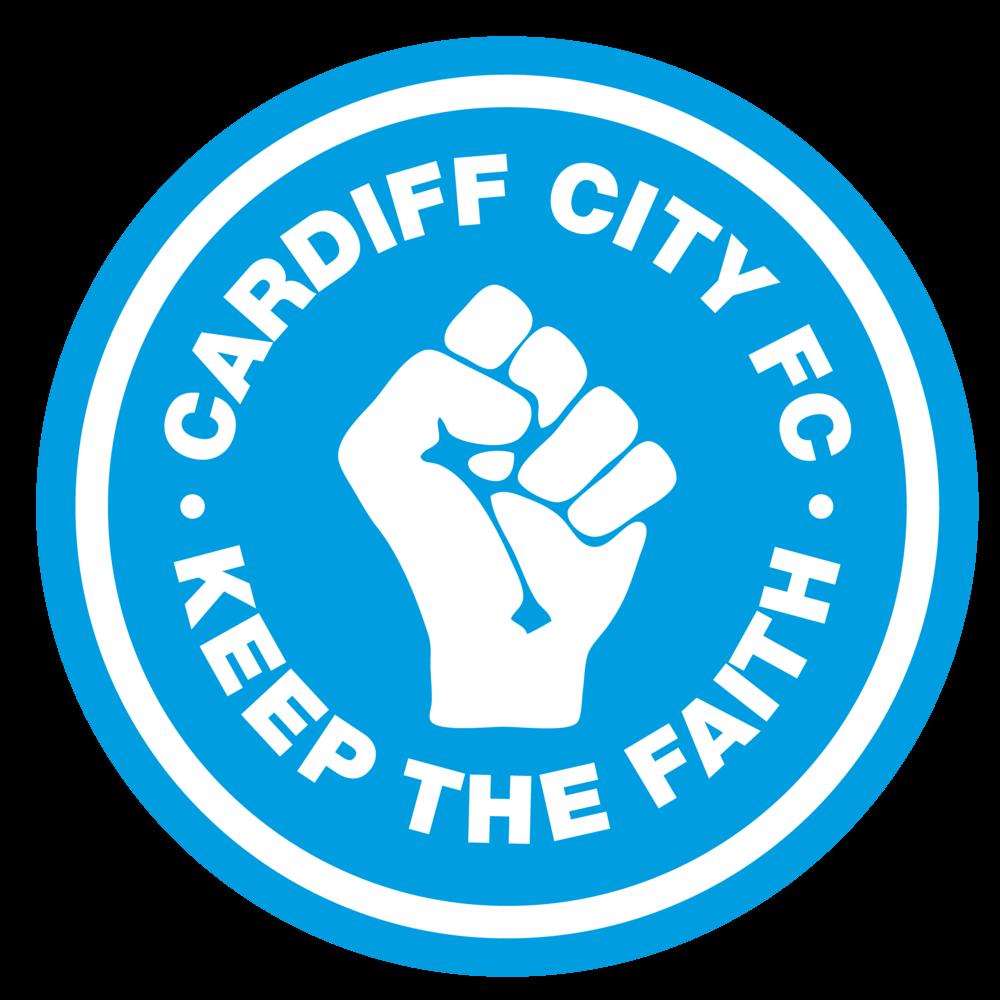Cardiff City FC - Keep the Faith - Men's Tshirt>