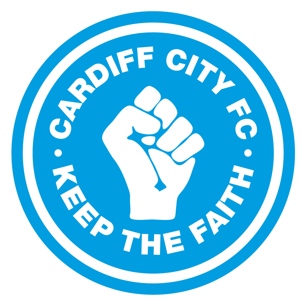 Cardiff City FC - Keep the Faith - Tote bag>