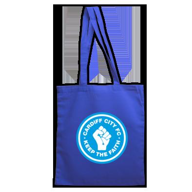 Cardiff City FC - Keep the Faith - Tote bag