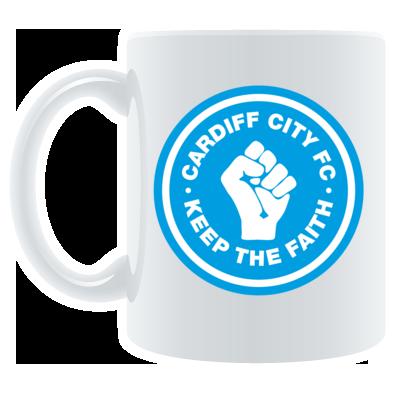 Cardiff City FC - Keep the Faith - Mug