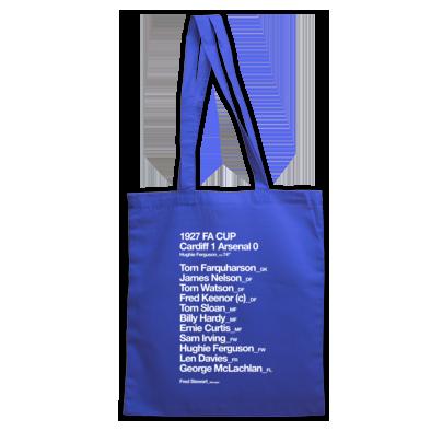 Cardiff City FC - 1927 FA Cup - Tote bag