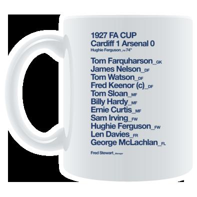 Cardiff City FC - 1927 FA Cup - Mug