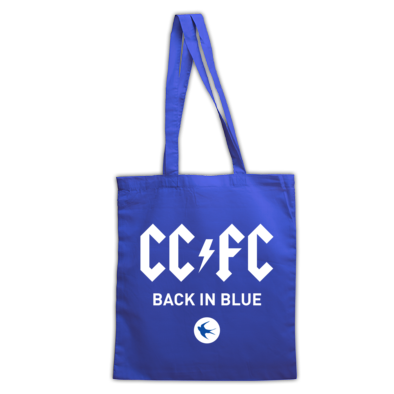 Cardiff City FC - Back in Blue - Tote Bags