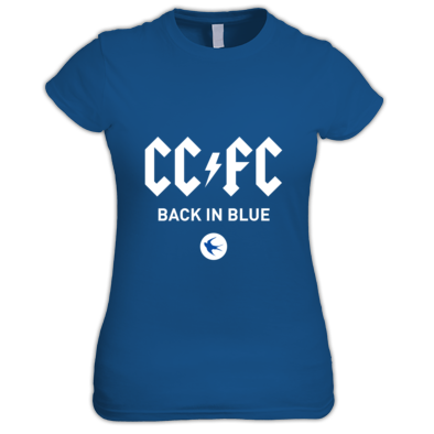 Cardiff City FC - Back in Blue - Women's T-shirts