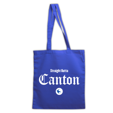 Cardiff City FC - Straight Outta Canton - Tote Bags